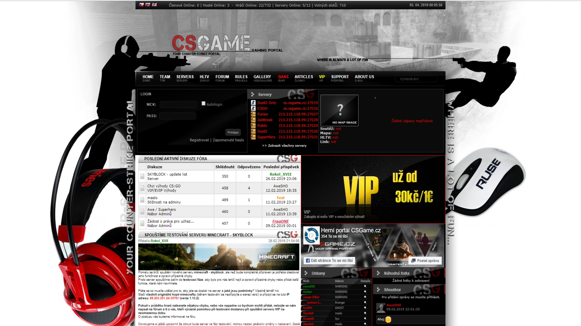 CSGame.cz - Gaming