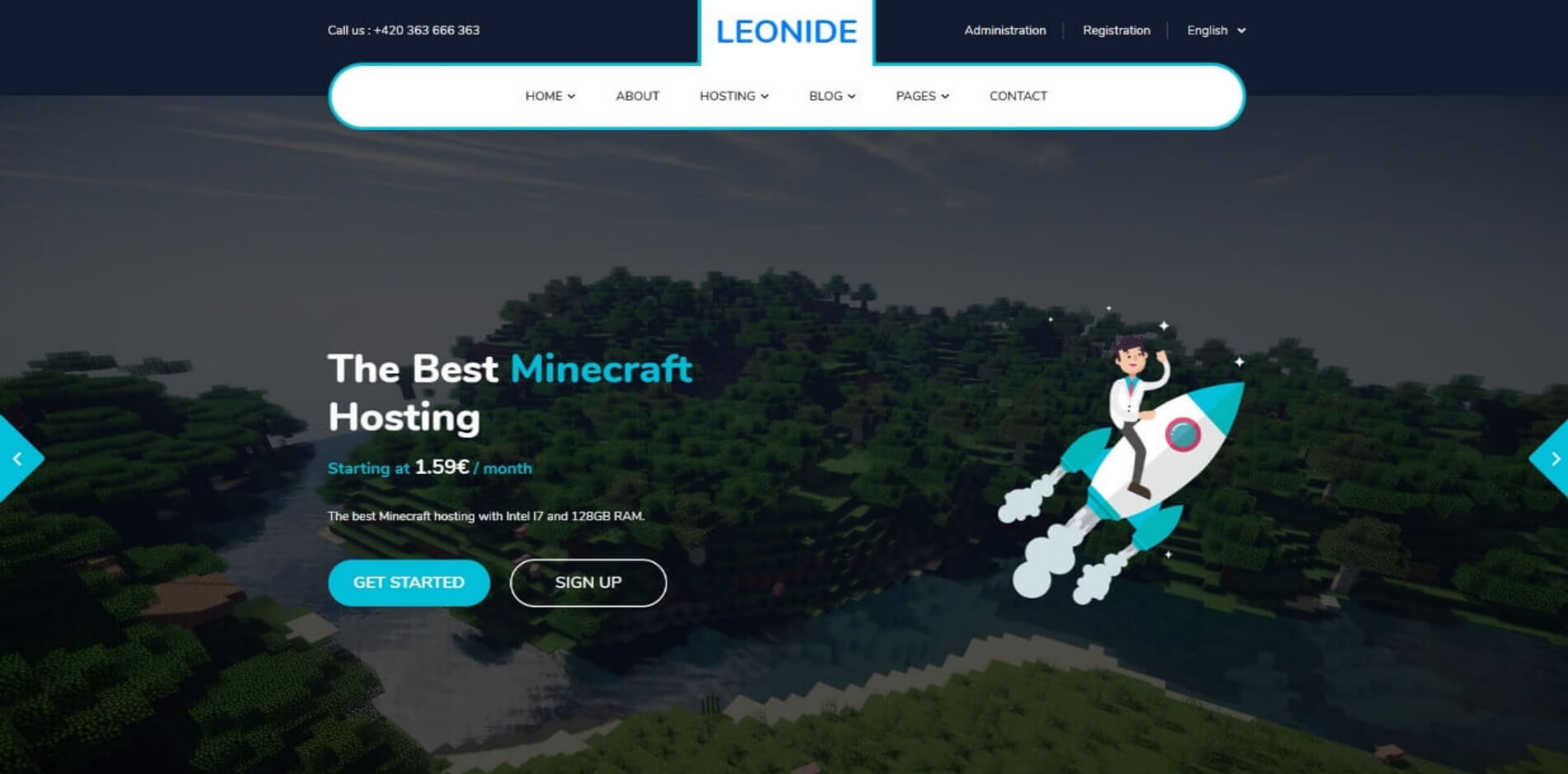 Leonide Gamehosting